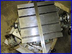 Advance 11 x 11 rotary Cross Slide X-Y table fits Bridgeport Milling Machine