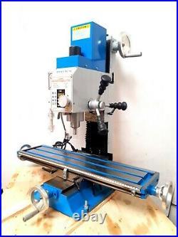 Amadeal VM25LV Milling Machine R8 3 AXIS DRO Brushless Motor Belt Drive