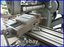 Atlas Bench Model Horizontal Milling Machine (CTAM #7518)