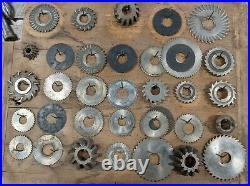 Atlas Horizontal Milling Machine Benchtop Mill Machinist Tool Hobby Home Shop