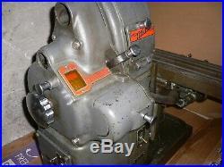 Atlas Horizontal Milling Machine model MF (not MFC) Mill Benchtop