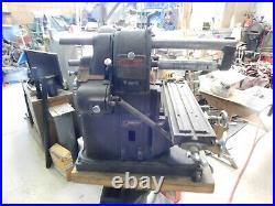 Atlas Horz Mill, Bench Model 115 Volts Lots Of Tooling