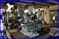 Atlas MFC Horizontal Milling Machine with vertical Head