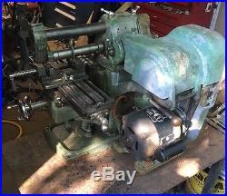 Atlas MFC Mill Horizontal Milling Machine Machinist Tool Bench Top