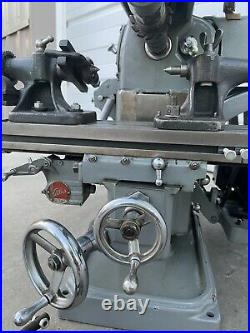 Atlas MF Horizontal Milling Machine 110volt Dividing Head Complete With Tooling