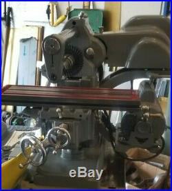 Atlas (MF) horizontal milling machine rare, + tooling machinist tools