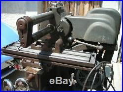Atlas Mill Milling Machine with Original stand, working condition power table