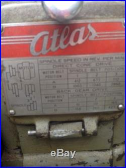 Atlas Milling Machine Model# MF