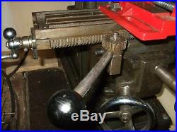 Atlas Milling Machine With Marvin Verticle Head Rack&pinyon Advance
