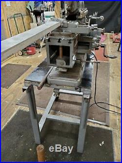 Atlas Model 7B Metal Shaper with Stand / Vise COMPLETE and WORKING