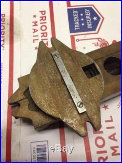 Atlas milling machine original vise