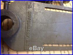 Atlas milling machine vertical milling head
