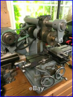 Awesome Burke #4 Milling Machine withVertical Milling and VFD
