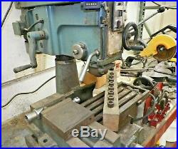 BENCH TOP MILLING MACHINE, 208/220 VOLT WithR8 COLLETS, HD VISE AND CLAMPS SET