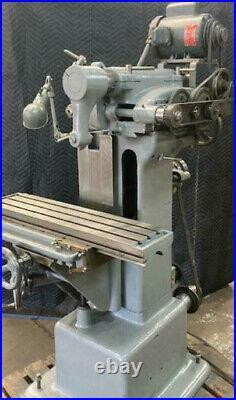 BENCH TOP MILL ALTURNATIVE Van Norman 1/2 HORIZINTAL MILLING MACHINE