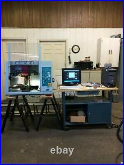 BOXFORD VMC190xi CNC MILLING MACHINE COMPLETE SYSTEM READY TO MAkE PARTS