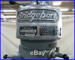BRIDGEPORT 1 HP 9 x 42 Vertical Milling Machine