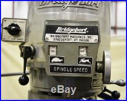 BRIDGEPORT 2 HP 9 x 48 Vertical Mill Series 1