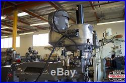 BRIDGEPORT 9 X 48 VARIABLE SPEED MILLING MACHINE / FULLY REBUILT