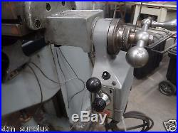 BRIDGEPORT MILLING MACHINE 2J VARIABLE SPEED DRO 2 AXIS POWER FEEDS 9 X 42 TABLE