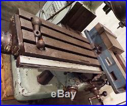 BRIDGEPORT MILLING MACHINE 9 X 42 TABLE, WithACU-RITE DRO 300SC 2X G, 1-1/2HP