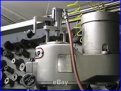 BRIDGEPORT MILLING MACHINE POWER DRAWBAR TOOL CHANGER TIME LABOR SAVER NEW