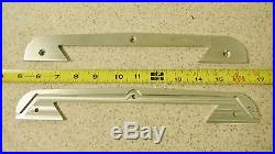 BRIDGEPORT MILL PART, MILLING MACHINE (1) SADDLE KNEE WIPER PLATE 2060123 M1153