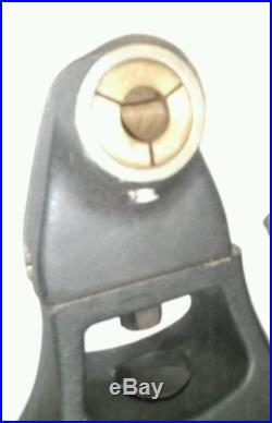 BRIDGEPORT RIGHT ANGLE HEAD HORIZONTAL MILLING ATTACHMENT WITH ARBOR SUPPORT