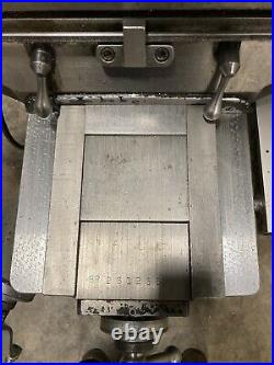 BRIDGEPORT SERIES 1 2HP MILLING MACHINE ACU RITE DRO 42INCH TABLE With POWER FEED
