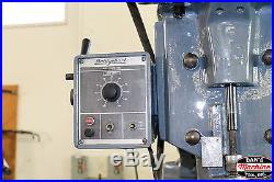 BRIDGEPORT SERIES II 11 X 60 MILLING MACHINE WITH X AXIS POWER FEED