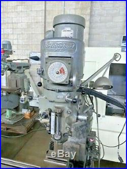 BRIDGEPORT Series 1 Mill, Accurite DRO, 9 x 42 Table, 1.5HP, Power Feed