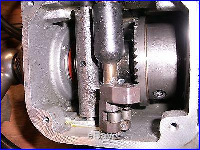 BRIDGEPORT TABLE FEED UNIT 8F FROM MODEL F537A FRAME 145TY-4
