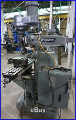BRIDGEPORT VERTICAL MILLING MACHINE SERIES I With New DRO (28576)