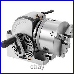 BS-0 Precision 5'' Semi Universal Dividing Head 3-jaw chuck milling machine
