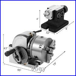 BS-0 Semi-universal Quick Dividing Indexing Head With Tail Stock For CNC Milling