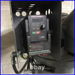 BURKE Millrite MVN Vertical Knee Mill 1HP VSD Variable Drive 220 1 Ph Powermatic