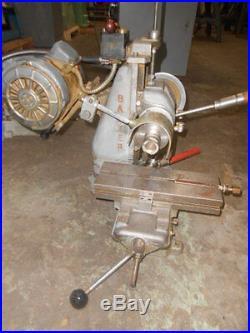 Barker Bench Model Horizontal Milling Machine Model PM