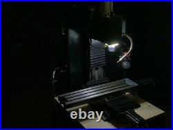 Bench Top CNC MILLING MACHINE metal milling machine closed loop stepper motors