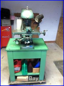 Benchmaster Milling Machine with original cabinet