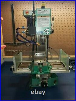 Benchtop CNC mill Grizzly G0463 converted CNC mill & everything to support it