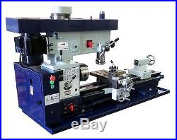 Bolton Tools 12 x 36 Metal Lathe Mill Drill Milling Combo Machine AT400 METRIC