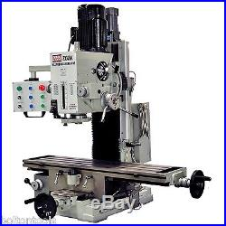 Bolton Tools 9 1/2 x 40 Gear Driven Milling Machine with Power Feeder ZX45A