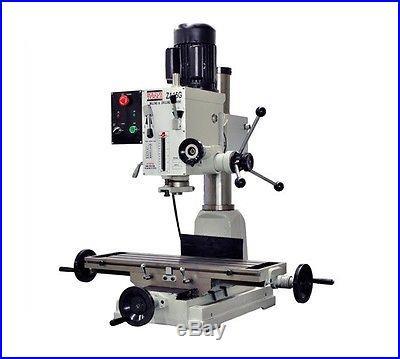 Bolton Tools Gear Head Milling Machine 9 1/2 x 32 Table MILL DRILL