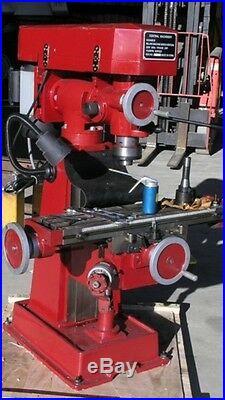 Brand New 2020- 9 Speed, 6.5 X 26 Vertical Milling Machine