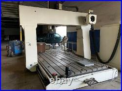 Bridge/Gantry Mill 1996 Zimmermann FZ-30 3-axis CNC Heidenhain controls