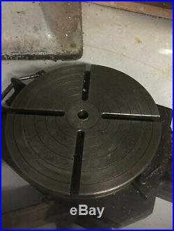 Bridgeport 15 Horizontal Rotary Table Mill Milling Machine