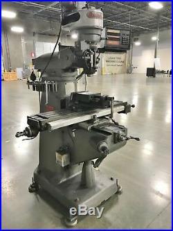 Bridgeport 1 HP Milling Machine