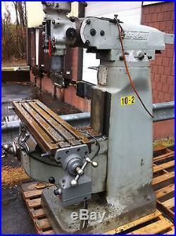 Bridgeport 2 HP Milling Machine
