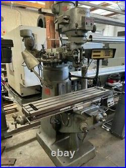 Bridgeport 2hp Variable Speed Milling Machine With Shaping Attachment
