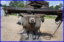 Bridgeport 9 x 42 Vertical Milling Machine 1 1/2 HP in Mississippi NO RESERVE